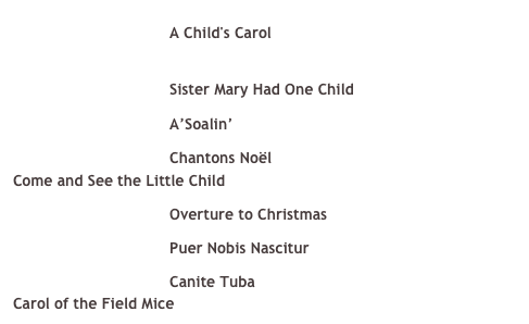 A Child's Carol 