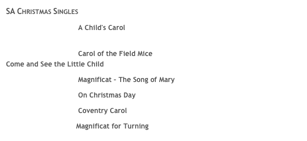 SA Christmas Singles 