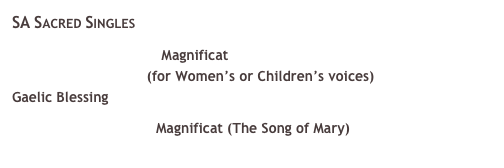SA Sacred Singles 